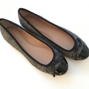 Banana Republic Tweed Ballet Flats